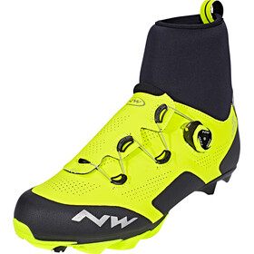 Northwave Raptor Arctic GTX Shoes Performance Line Men yellow fluo/black